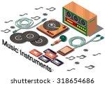 illustration of info graphic...   Shutterstock .eps vector #318654686