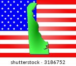 map of the state of delaware...   Shutterstock .eps vector #3186752