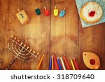 Top View Image Of Jewish...