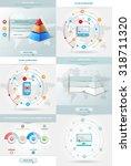 vector infographics element... | Shutterstock .eps vector #318711320