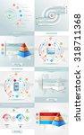 vector infographics element... | Shutterstock .eps vector #318711368