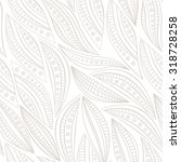 vector floral seamless pattern | Shutterstock .eps vector #318728258