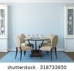 Modern Dining Room Interior.3d...
