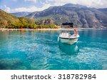 Motorboat Against Oludeniz ...