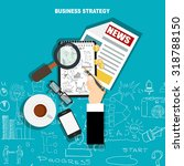 concepts for business planning... | Shutterstock .eps vector #318788150
