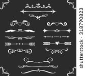vintage decorative text...   Shutterstock .eps vector #318790823