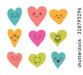 funny happy smiley hearts. cute ...