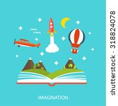 Reading Book  Imagination...