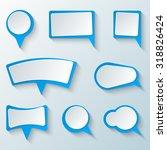 dialog box icon. speech bubble...   Shutterstock .eps vector #318826424