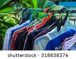 Stock photo clothes line 318838376