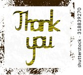 """the phrase """"thank you"""". grunge... 