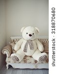Big Teddy Bear At Home On The...