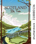 Scotland By Train Featuring A...