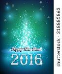 happy new 2016 year. seasons...   Shutterstock .eps vector #318885863