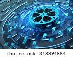 digital video and multimedia... | Shutterstock . vector #318894884