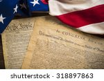 the declaration of independence ... | Shutterstock . vector #318897863