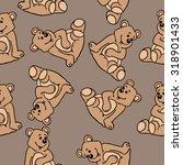 bear seamless pattern   Shutterstock . vector #318901433