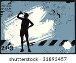 vector grunge background | Shutterstock .eps vector #31893457