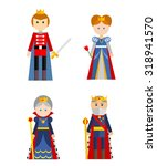 vector characters collection on ... | Shutterstock .eps vector #318941570