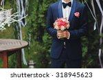 Young Man Waiting Woman.groom...