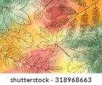 Colorful Hand Drawn Autumn...