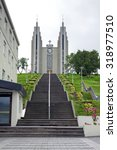 Small photo of Akureyrarkirkja - The Church of Akureyri - The Church of Akureyri is a prominent Lutheran church in Akureyri, northern Iceland, located in the centre of the city