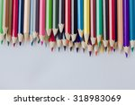 color pencil on white background   Shutterstock . vector #318983069
