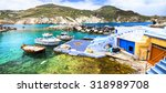 colors of greece   traditional... | Shutterstock . vector #318989708
