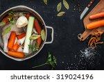 Preparing Chicken Stock ...