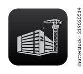construction industry on black... | Shutterstock .eps vector #319030514