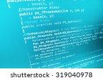 modern technology digital... | Shutterstock . vector #319040978