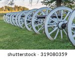 Line Of Cannons At Valley Forg...