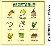 vegetable vol.1 | Shutterstock .eps vector #319103900