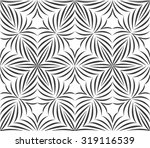 seamless pattern of abstract... | Shutterstock . vector #319116539
