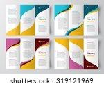 brochure design template... | Shutterstock .eps vector #319121969