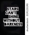 motivational quote poste | Shutterstock .eps vector #319123190