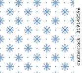 seamless christmas pattern. new ... | Shutterstock . vector #319143596