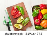 Fresh Colorful Bell Pepper...