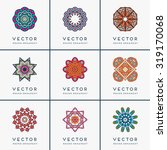 mandalas. vintage decorative... | Shutterstock .eps vector #319170068