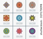 mandalas. vintage decorative... | Shutterstock .eps vector #319170098