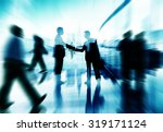 handshake partnership agreement ... | Shutterstock . vector #319171124