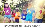 children friendship... | Shutterstock . vector #319173644