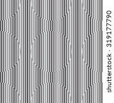 black stripes round pattern | Shutterstock .eps vector #319177790
