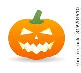 halloween pumpkin icon | Shutterstock .eps vector #319204910