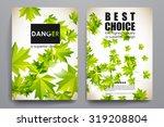 set of brochure  poster...   Shutterstock .eps vector #319208804