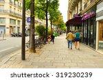 paris  france   august 09  2015 ... | Shutterstock . vector #319230239
