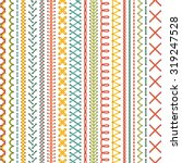seamless embroidery pattern.... | Shutterstock .eps vector #319247528