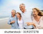 Senior People Walking On The...