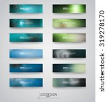 color banners set with... | Shutterstock .eps vector #319278170
