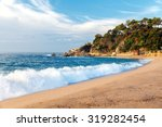 Waves On The Beach Of Lloret D...
